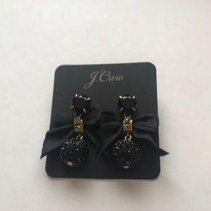 Jcrew Bow Drop Earrings